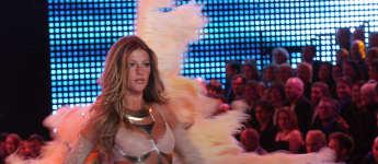 Gisele Bündchen als Model auf der Victorias Secret Show