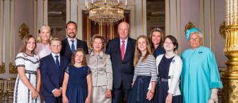 Foto zur Goldenen Hochzeit von Königin Sonja und König Harald von Norwegen