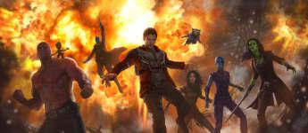"""""""Guardians of the Galaxy 2"""" schauspieler stars"""