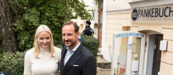 Prinz Haakon und Mette-Marit sind zu Besuch in Berlin