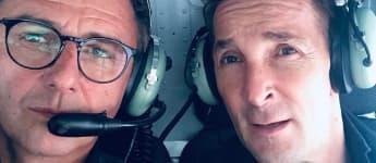 """Hans Sigl und Mark Keller von """"Der Bergdoktor"""" als Freunde auf Instagram"""