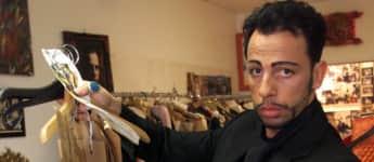 Harald Glööckler im Jahr 2001 damals jung früher in jungen Jahren Designer