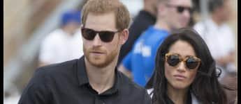 Prinz Harry und Herzogin Meghan bei der Landrover Driving Challenge