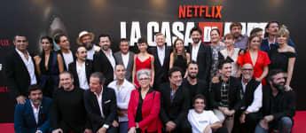 """""""Haus des Geldes"""" Cast"""