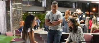 """Hawaii-Five-O"" Taiana Tully, Beulah Koale und Meaghan Rath"