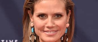 Heidi Klum hat eine sehr schmale Nase