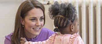 Herzogin Kate Kind Kinderzentrum