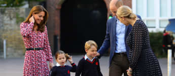 Herzogin Kate, Prinzessin Charlotte, Prinz George, Prinz William