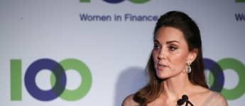 Beim Besuch einer Gala hielt Herzogin Kate eine Rede