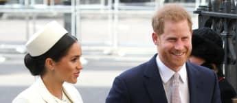Herzogin Meghan und Prinz Harry ganz verliebt
