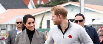 Herzogin Meghan und Prinz Harry in Wellington, Neuseeland, Herzogin Meghan