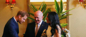 Herzogin Meghan, Prinz Harry, Peter Cosgrove