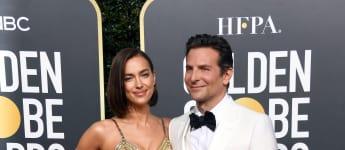 Irina Shayk Bradley Cooper Golden Globes 2019