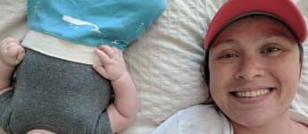 Janina Reimann ist stolze Mama des kleinen Charles William