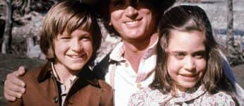"""Jason Bateman, Michael Landon und Missy Francis in """"Unsere kleine Farm"""""""