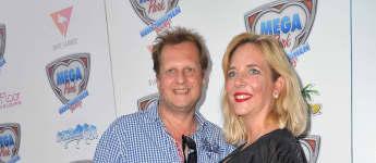 Jens Büchner und Daniela Büchner auf dem roten Teppich
