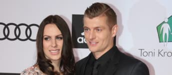 Seit Jahren unzertrennlich: WM-Held Toni Kroos und seine Ehefrau Jessica Farber