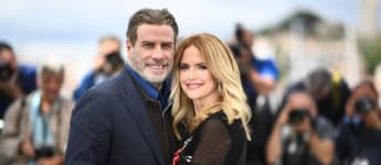 John Travolta und Kelly Preston in Cannes 2018