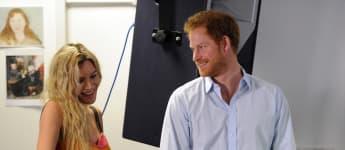 Joss Stone und Prinz Harry
