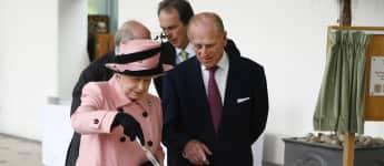 Königin Elisabeth essen