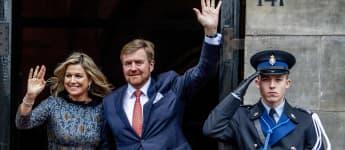 Köinigin Máxima neben ihrem Mann König Willem-Alexander