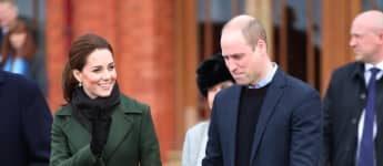 Prince William and Duchess Catherine in Blackpool