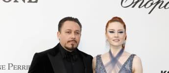 Barbara Meier und Klemens Hallmann bei den FIlmfestspielen in Cannes 2019