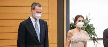 König Felipe und Königin Letizia andorra
