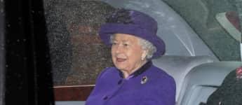 Königin Elisabeth II. Auto nicht angeschnallt