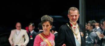königin letizia, könig felipe japan