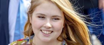 Kronprinzessin Amalia der Niederlande ist zu einer selbstbewussten, jungen Frau geworden