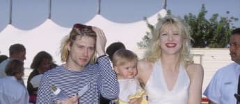 Kurt Cobain, Courtney Love und Frances Bean Cobain 1993