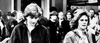 Lady Diana und Camilla Parker Bowles im Jahr 1981