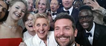 das legendäre Oscar-Selfie, Oscar Selfie 2014, legendäres Oscar-Selfie 2014, legendäres Oscar-Bild, Oscar-Bild 2014, Oscar-Geschichte, Momente die in die Oscar-Geschichte eingegangen sind, Bilder die in die Oscar-Geschichte eingegangen sind