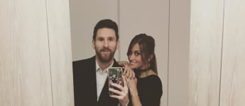 Immer noch so verliebt: 2009 machte Lionel Messi seine Beziehung mit Antonella Rocuzzo öffentlich