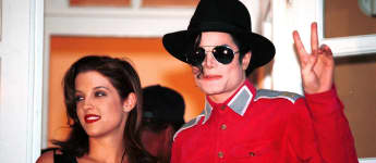 Lisa Marie Presley und Michael Jackson