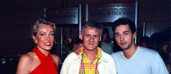 Ehemalige GZSZ-Stars: Lisa Riecken mit Frank-Thomas Mende und Andreas Elsholz