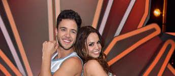 Luca Hänni und Christina Luft let's dance