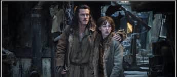 """Luke Evans und John Bell in """"Der Hobbit"""""""