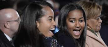 Malia und Sasha Obama: Die Töchter von Michelle und Barack Obama