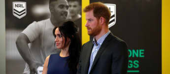 Mittlerweile kann Herzogin Meghan ihren Babybauch nicht mehr verstecken