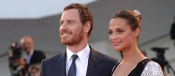 "Michael Fassbender und Alicia Vikander bei der Premiere von ""The Light Between Oceans"" 2016"