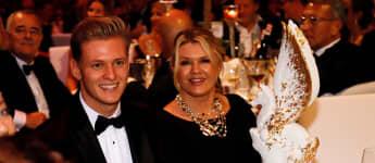 Mick Schumacher und Corinna Schumacher