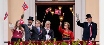 Norwegische Königsfamilie am Nationalfeiertag 2020