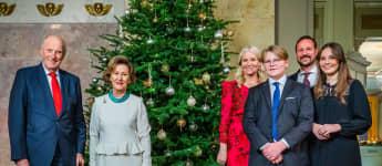 Die Weihnachtsfotos des norwegischen Königshauses 2020