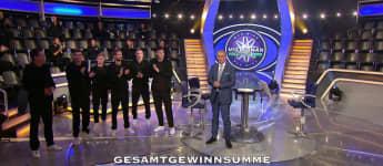 """Die deutschen Nationalspieler bei """"Wer wird Millionär?"""""""