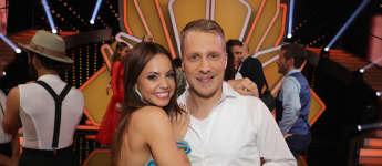 """Christina Luft und Oliver Pocher bei """"Let's Dance"""" 2019 auf RTL"""