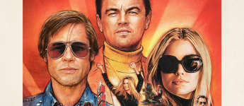 """Once Upon a Time in Hollywood"" Filmplakat"