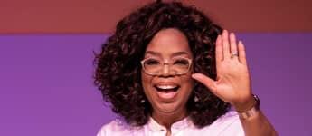 Oprah Winfrey in Johannisburg bei einer Rede zu Ehren Nelson Mandelas 2019