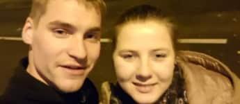 Sarafina Wollny und Verlobter Peter
